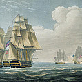 After The Battle Of Trafalgar by Thomas Whitcombe