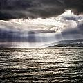 After The Storm Sea Of Galilee Israel by Mark Fuller
