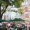 Afternoon At Faneuil Hall by Jeff Kolker