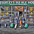 Afternoon At Mcsorley's by Randy Aveille