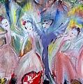 Afternoon Bird Ballet by Judith Desrosiers