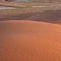 Afternoon Light On The Dune In Wadi Rum by Joshua Van Lare
