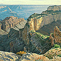 Afternoon-north Rim by Paul Krapf