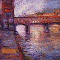 Afternoon On The Arno by R W Goetting
