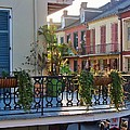 Afternoon On The Balcony by Margaret Bobb