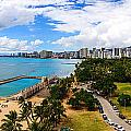 Afternoon On Waikiki by Jason Chu