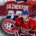Galchenyuk Phone Cover 2 by Nicholas Legault