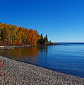 Agate Beach On Lake Superior by Steve Anderson
