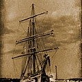 Age Of Sail Poster by John Malone Halifax photographer