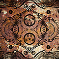 Age Of The Machine 20130605rust Vertical by Wingsdomain Art and Photography