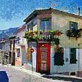 Agiassos Village by George Atsametakis