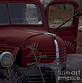 Aging Dodge   #3514 by J L Woody Wooden