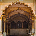 Agra Fort Arches by Inge Johnsson