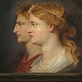 Agrippina And Germanicus by Peter Paul Rubens
