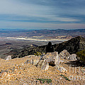 Aguereberry Point View Of Death Valley #4 by Dan Hartford