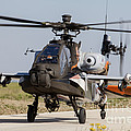 Ah-64d Apache Longbow Of The Royal by Timm Ziegenthaler
