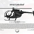 Ah-6j Little Bird Night Stalkers by Arthur Eggers