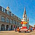 Ahh...new Orleans Impasto by Steve Harrington