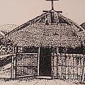 Ahka Village Church by Missy Steward
