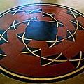 Ahwahnee Hotel Floor Medallion by Eric Tressler