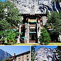 Ahwahnee Hotel In Yosemite National Park by Catherine Sherman