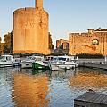 Aigues-mortes  Languedoc-roussillon France Constance Tower by Colin and Linda McKie