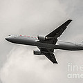 Air Canada B 767 Monochrome by Rene Triay Photography