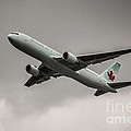 Air Canada Boeing 767 Monochrome by Rene Triay Photography