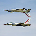 Air Force Thunderbirds by Bill Gallagher