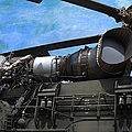 Air - Helicopter - Ch-54 Skycrane - Tarhe  by Liane Wright