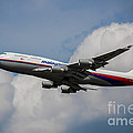 Air Malaysia Boeing 747 by Rene Triay Photography