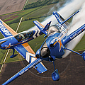 Air National Guard Aerobatics by Adam Romanowicz