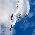 Air Show Baltic Bees Jet Team by Vytautas Martuzas