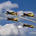 Air Show Hawks Of Romania by Daliana Pacuraru
