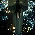 Air To Air Refueling At Night by Paul Fearn