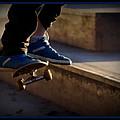 Airborne Skateboarder by Ernie Echols