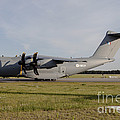 Airbus A400m For The French Air Force by Timm Ziegenthaler