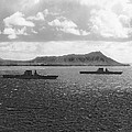 Aircraft Carriers In Hawaii by Underwood Archives