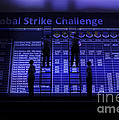 Airmen Post The Scores During Global by Stocktrek Images
