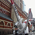 Airplane Sculpture In Philadelphia Pa - Navy S2f by Mother Nature