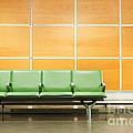 Airport Seats by Luis Alvarenga