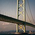Akashi Kaikyo Bridge Sunset by Daniel Hagerman