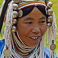 Akha Tribal Woman - Kengtung Burma by Craig Lovell