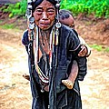 Akha Tribe Paint Filter by Steve Harrington