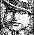 Al Capone 1931 by Jerry Stinson