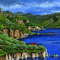 Al Mafi Coast Italy by Carlene Salazar