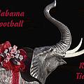 Alabama Football Roll Tide by Kathy Clark