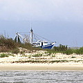 Alabama - Gulf Of Mexico Shrimper - Beautiful Day For Fishing by Travis Truelove