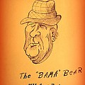 Alabama's Bear Bryant by Greg Moores