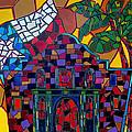 Alamo Mosaic by Patti Schermerhorn